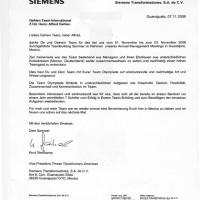 Mexiko Siemens