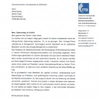 Referenz FHS Münster Dr. Uli Remmerbach